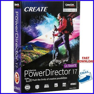 CyberLink PowerDirector ULTIMATE 17 | Latest Version | Download license ✔ For PC