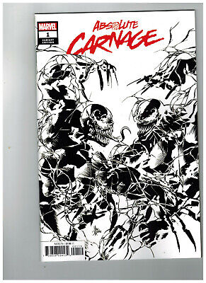 ABSOLUTE CARNAGE #1  1st Printing - Party Sketch Variant    / 2019 Marvel Comics