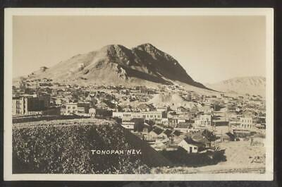 RP Postcard TONOPAH Nevada/NV  Early 1900's Local Area Town Aerial view 1930's