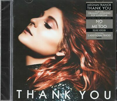 Meghan Trainor - Thank You (2016 CD) Deluxe Edition (New & Sealed)