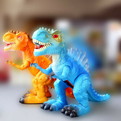 Walking Dragon Toy Electric Roaring Tyrannosaurus Rex Dinosaur Christmas Gift