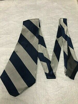 "Original 1930S ""Adastra""  Deadstock Vintage Tie  Bold Stripes Art Deco"