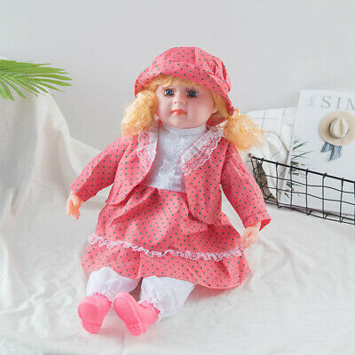 "Lifelike Size Large Happy Face Soft Bodied Baby Doll Girl Boy 24"" Play Toy Gift"