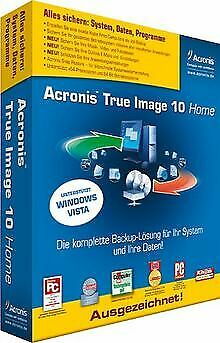 Acronis True Image 10 Home von Acronis Germany GmbH | Software | Zustand gut