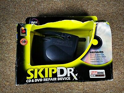 SkipDr DVD and CD Repair Device System