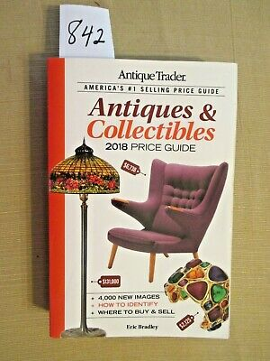 Antique Trader 2018 Price Guide. Paperback book.