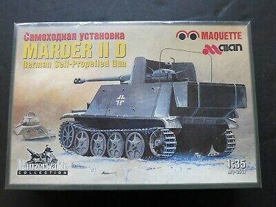 VINTAGE Russian ALAN MARDER II D MODEL TANK 1:35 Panzerwaffe Collection
