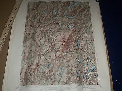 1950'S U.s. Dept Of Interior & Army Engineers New Hampshire Map Lot Of 15 - O 3B