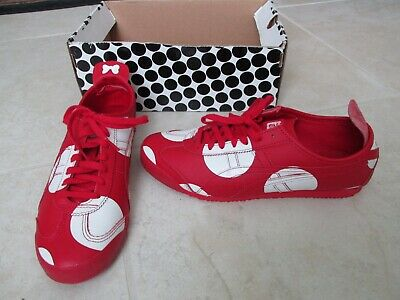 NEW Asics Onitsuka Tiger Mexico 66 X DISNEY Minnie Shoes MEN 9.5 WOMENS 11 RED