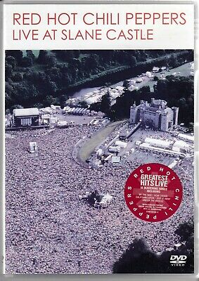 RED HOT CHILI PEPPERS Live At Slane Castle DVD freepost worldwide