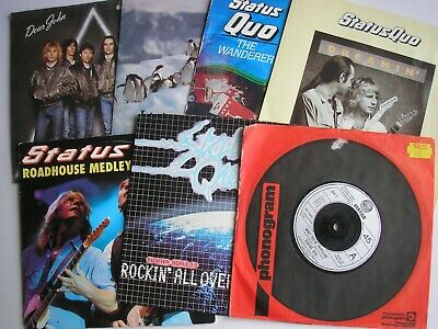 """STATUS QUO *INSTANT RECORD COLLECTION* 7 x 7"""" VALUE PACK  Free UK P&P"""