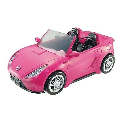 Barbie Car Glam Cruise Convertible Signature Pink Vehicle with Seatbelts