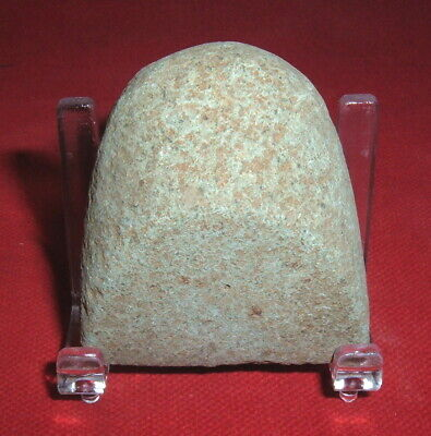 Quality Little Sahara Neolithic Celt With Stand, Prehistoric African Artifact