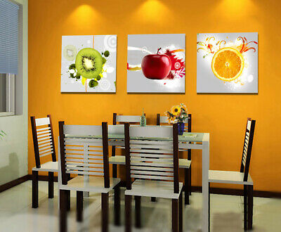 HUGE MODERN ABSTRACT WALL DECOR ART PRINT OIL PAINTING ON CANVAS Fruit ART T054