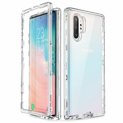 ULAK Galaxy Note 10 Plus 5G Case Shockproof Rugged Case Transparent Soft Cover
