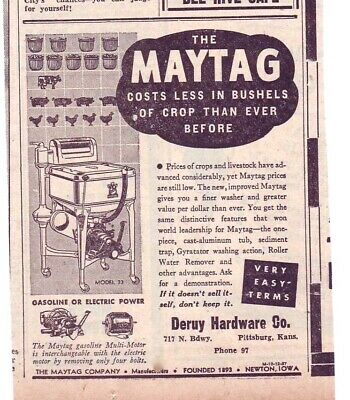 1931 LARGE NEWSPAPER ad for Kenmore Wringer Washers - Deluxe