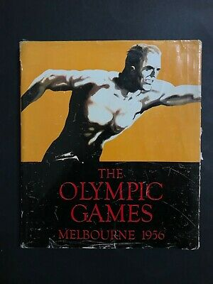 Olympic Games Melbourne 1956 Hardback Book, With Dust Cover