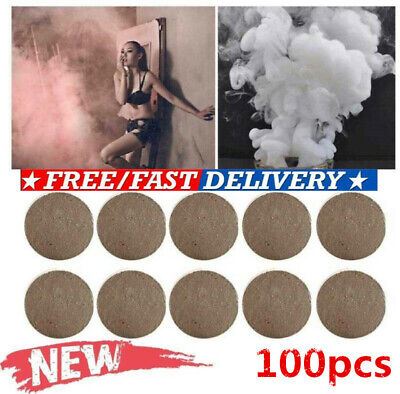 100Pcs Smoke Cake White Bomb Effect Show For Photography Stage Props Aid Toy CY