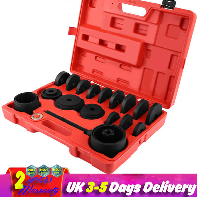 23pc Steel Front Wheel Hub Drive Bearing Removal Tool Set Installation Kit + Box