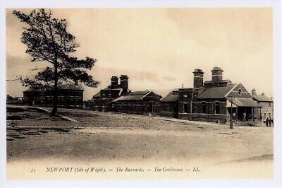 (av87) Isle of Wight Newport The Barracks The Cookhouse Copy of a Postcard