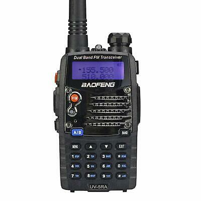 Two Way Radio Scanner Transceiver Handheld Police Fire Dual Band Transceiver