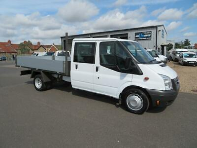 Ford Transit 350 LWB Double Cab 2.2 Tipper Manual Diesel