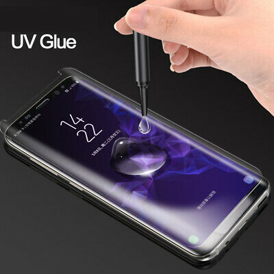 Full Cover UV Glue Tempered Glass Film Protector for Samsung Galaxy Note 10 Plus