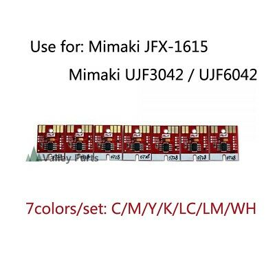 Chip permanent for Mimaki UJF3042/ UJF6042 LF140-0728 UV Cartridge CMYKLCLMWh