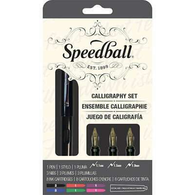 Speedball Calligraphy Fountain Pen Set   651032029035