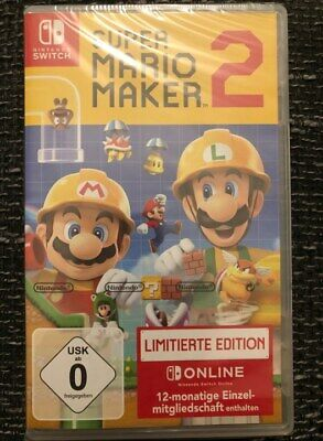 Nintendo Switch Super Mario Maker 2 NEU&OVP! Limited Edition!