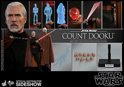 Hot Toys MMS496 Star Wars Attack of the Clones Count Dooku 1/6 Figure In Stock