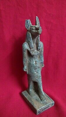 Ancient Egyptian Antiquities  Ushabti of God Anubis - (3100 –  2890 BC)