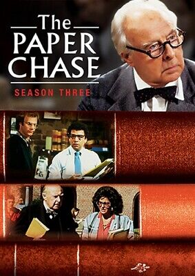 THE PAPER CHASE TV SERIES COMPLETE SEASON THREE 3 New Sealed 3 DVD Set