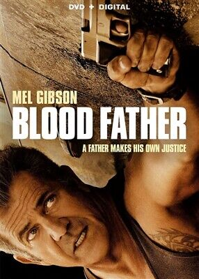BLOOD FATHER New Sealed DVD Mel Gibson