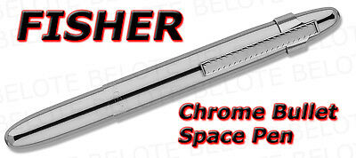 Fisher Space Pen Polished Chrome Bullet w/ Clip 400CL