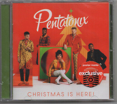Pentatonix-Christmas Is Here sealed Target Exclusive CD with Poster