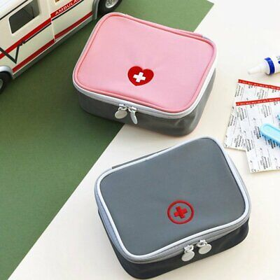 Mini Outdoor First Aid Kit Bag Travel Medicine Package Emergency Kit WO