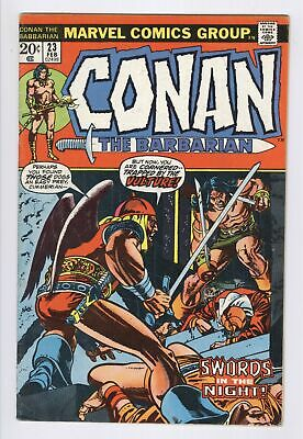 Conan The Barbarian #23 (1973) GD+ 1st RED SONJA Appearance Marvel Comics