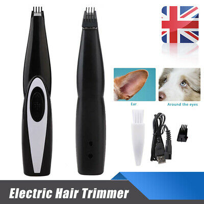 Electric Hair Trimmer Shaver Foot Hair Clipper Cordless Rechargeable Pet Cat Dog