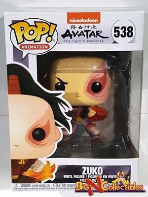 Funko Pop! Animation Avatar Last Airbender- ZUKO #538