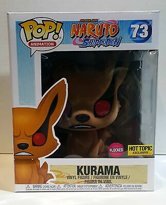 Funko Pop! Animation - Naruto Shippuden - Kurama #73 Flocked Exclusive
