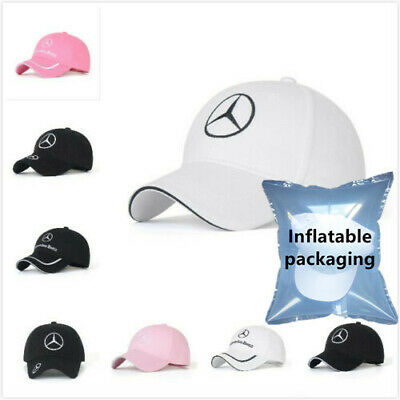 New MERCEDES BENZ² Logo AMG Cap Sport Baseball Hat outdoor Adjustable Fast SHIP