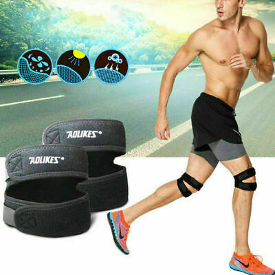 Knee Support Brace Open Patella Tendonitis Stabilizer Jumpers Sprain Pain Relief