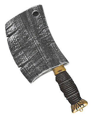Fancy Dress Viking Hammer Prop Axe Weapon Plastic Accessory Armour Shield Med...