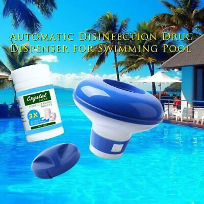 100Pcs Chlortabletten u0026 Spa Schwimmbecken Chlor Brom Dispenser