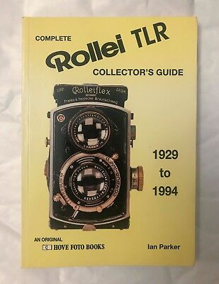 Complete Rollei TLR Users Manual, 1929 to Present, Softback Book