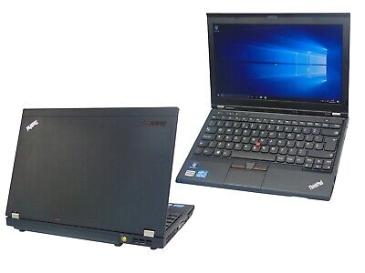 Lenovo Thinkpad X230 Core i5 2.60GHz 4GB Ram 320GB HDD Windows 10 Laptop