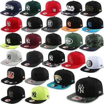 New era Cappello Snapback 9Fifty York Yankees Seahawks Star Wars Brooklyn Nets #
