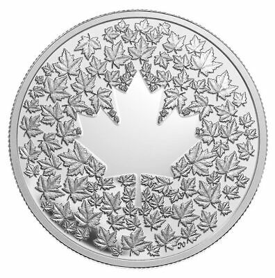 Maple Leaf Impression - 2013 Canada $3 Fine Silver Coin