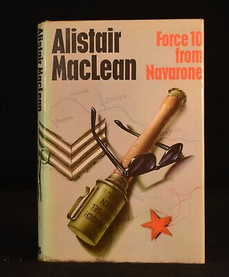 1968 Alistair Maclean Force 10 From Navarone First Edition Dustwrapper WWII